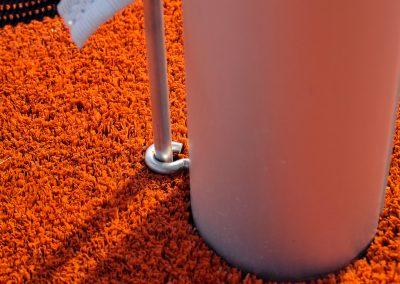 Доставена и монтирана 2300 кв.м. изкуствена трева - Спортен комплекс към х-л Uva Nestum Wine&SPA - ТБ Флорингс ЕООД