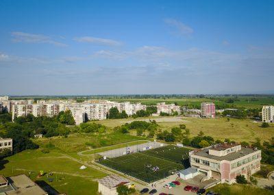 Доставена и монтирана изкуствена трева - Тренировъчен терен на Сдружение Спортна Академия, Пловдив - ТБ Флорингс ЕООД
